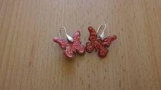 kikulienka9 / Motýle - náušnice Belly Button Rings, Fantasy, Earrings, Jewelry, Ear Rings, Stud Earrings, Jewlery, Jewerly, Ear Piercings