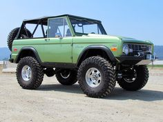 1973 Ford Bronco...every time I see one of these in a film, I always say I want one.