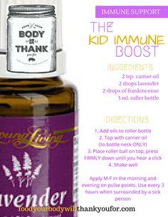 Immune Support EO Recipe