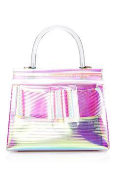 PVC Karl Top Handle Bag 24cm by BOYY Now Available on Moda Operandi