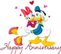 Donald Duck Photo: Donald and Daisy Happy Anniversary Wedding, Happy Aniversary, Happy Anniversary Quotes, Anniversary Message, Anniversary Greetings, Anniversary Pictures, Anniversary Ideas, Birthday Messages, Birthday Quotes