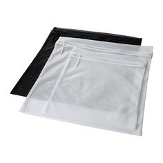 IKEA - PRESSA laundry washing bag. Use these to organize your clothes etc when packing instead of expensive organizers. They will do the trick for a much cheaper price - these only cost 3 euros!