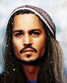 J Depp by ecilARose.deviantart.com on @deviantART