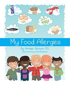 My Food Allergies, Amber DeVore | The story of Kieran and how he felt strange after eating his yougurt and granola.