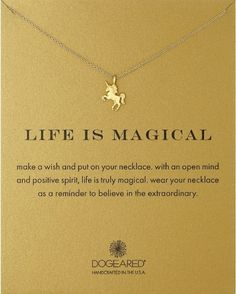 Dogeared Life is Magical Necklace | Top 10 Christmas Present Ideas for Teen Girls