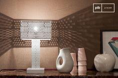Eine besondere vintage Lampe für besonderes Licht beim Fernsehabend