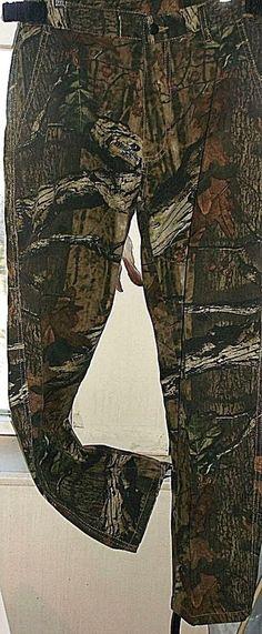 Boys Mossy Oak Camo Pants Hunting Snowboard Scent Shield Size Medium Brown Green #ScentShield #CargoCombat #Everyday