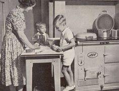 AGA in de jaren vijftig!!