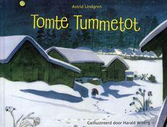 Prentenboek Tomte Tummetot - Astrid Lindgren   Tomtes van vilt uit Zweden   MOOSECAMPwebshop