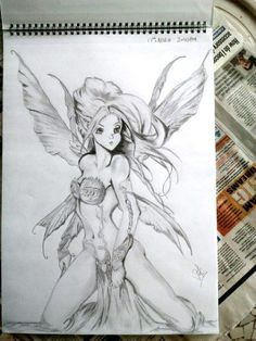fantasy - Sketching by VI KI in Hand Made at touchtalent 38392