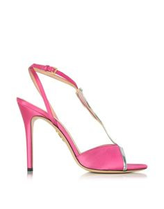 Charlotte Olympia Margarita Fiesta Pink Satin Sandal- $268.50-  http://www.zoannestyle.com/2015/12/if-you-love-pink/