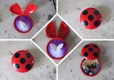 miraculous tales of ladybug and cat noir Ladybug Crafts, Ladybug Party, Meraculous Ladybug, Ladybug Comics, Peacock Miraculous, Les Miraculous, Miraculous Ladybug Costume, Miraculous Ladybug Memes, Lady Bug