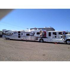 Horse trailer wow!