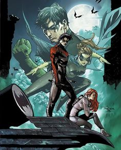 Dick & Barbara! - Comic - Nightwing Annual #1 Artwork by Tony Daniel & Tomeu Morey