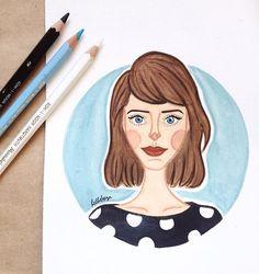 2/3 @tudoorna ✨ // @julialcantara #tudoorna #tudoornailustra #watercolor #illustration