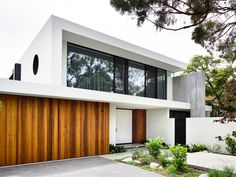 Architectural design is a concept that focuses on components or elements of a structure. An architect is generally the one in charge of the architectural design Modern House Facades, Modern House Design, Scandinavian Architecture, Modern Architecture, Chinese Architecture, Scandinavian Design, Residential Building Design, Facade House, House Front
