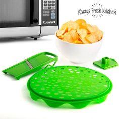 Crispy Crisp+ Kit for Making Crisps Chips Au Micro Onde, Best Chips, Appetisers, Frittata, Nespresso, Sweet Potato, Crisp, Cooking, Gifts