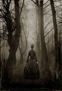 """Vintage Photo - This is my original artwork - do not claim as your own, but feel free to enjoy :) EDIT 3/10/14 - I am happy to say that this work is now the cover art for the Swedish translation of """"The Woman in Black""""!"""