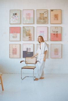 WOMEN WE LOVE: ARTIST, ASH HOLMES – Maurie & Eve   Journal Summer Painting, Diy Painting, Maurie Eve, Pretty Images, Aesthetic Room Decor, Heart Art, Art Google, Art World, Painting Inspiration