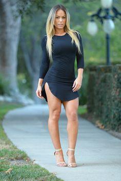 Tammy Tunic - Black | Fashion Nova