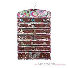 13 66 pocket hanging jewelry organizer many colors ideeli seda