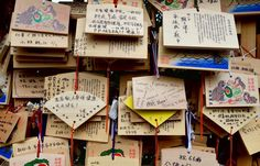 Messages in temple