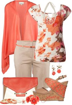 """Dressy Night Out In Bermuda Shorts"" by jaimie-a on Polyvore"