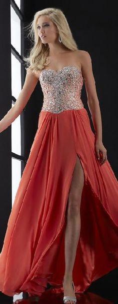 Elegant Sweetheart Red Natural Sleeveless Prom Dresses In Stock bestlovedresses41521sheun #reddress #promdress