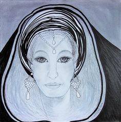 Original Fantasy Drawing by Gitta Landgraf Monet, Figurative Kunst, Fantasy Drawings, Big Eyes, Buy Art, Mystic, Saatchi Art, Original Art, Canvas Art