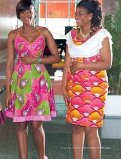 Uniwax mag 14 ok 2 African Print Dresses, African Fashion Dresses, African Attire, African Wear, African Dress, New Dress, Dress Up, Ankara Designs, Africa Fashion