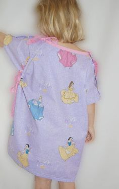 PDF Sewing Pattern  Child's Hospital Gown by sewlikemymom on Etsy, $6.00    What a great idea to make a bunch and deliver to the children's hospital.