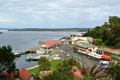 Strahan is a small town and former port on the west coast of Tasmania. It is now a significant locality for tourism in the region. Cruises based in Strahan take visitors on the Gordon River into the well-known Tasmanian World Heritage Area.