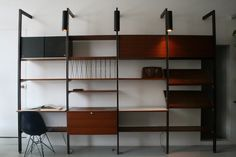 Vintage George Nelson Herman Miller CSS Wall Unit Eames Mid Century Modern | eBay