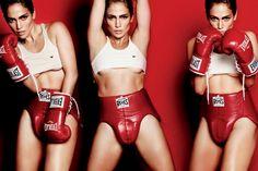 Jennifer Lopez vira boxeadora sexy em ensaio