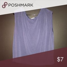 Light blue flowy tank Light blue tank top. Very light and good to wear on a hot day. Can be dressed up, as well as dressed down. Nothing wrong with it, just don't wear anymore. Still in good condition and only worn a couple times. Old Navy Tops