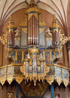 Frombork Cathedral pipe organ (176 pieces)
