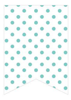 teal dots