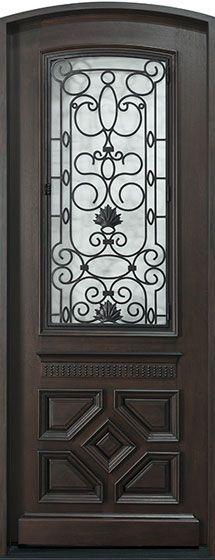 Front Door - Custom - Single - Solid Wood with Walnut Finish, Heritage, Model CST Wood Entry Doors, Wooden Front Doors, Glass Front Door, Glass Door, Barn Doors, Custom Interior Doors, Pivot Doors, Walnut Finish, Door Design