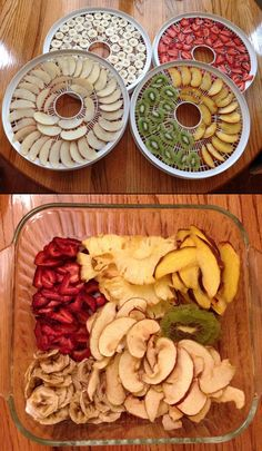 The Homestead Survival Dehydrating Fruits And Vegetables Times Dried Vegetables, Fruits And Veggies, Dehydrated Vegetables, Survival Food, Homestead Survival, Comida Diy, Canned Food Storage, Healthy Snacks, Healthy Recipes