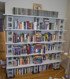 glass block and wood shelf | photo