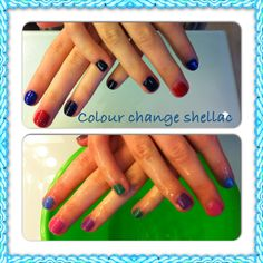 Colour changing Shellac