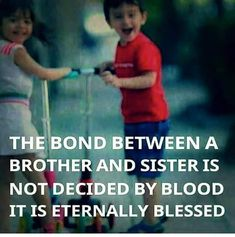 Brothers and Sisters are by blood, Friends by choice Agree. Tag-mention-share with your Brother and Sister 💙💚💛🧡💜� Brother Sister Relationship Quotes, Bro And Sis Quotes, Brother Sister Love Quotes, Sister Quotes Funny, Brother And Sister Love, Sweet Sister Quotes, Cousins Quotes, Nephew Quotes, Funny Sister