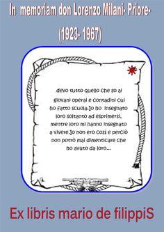 -Ex libris mario de filippis arezzo
