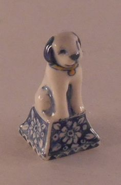 Dog by Henny Staring-Egberts - $99.50 : Swan House Miniatures, Artisan Miniatures for Dollhouses and Roomboxes