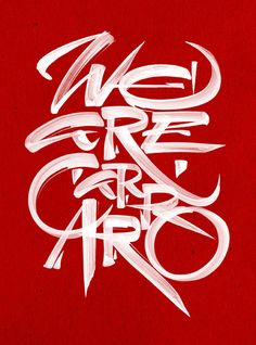 REVIEW magazine - Carraro Group | by Luca Barcellona - Calligraphy & Lettering Arts