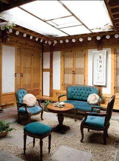 Korean-style house interior