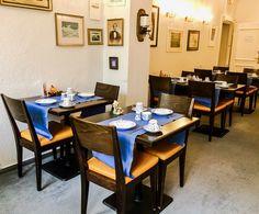 Frühstück im Blauen Salon Bad Godesberg, Villa, Das Hotel, Conference Room, Dining Table, Furniture, Home Decor, Drawing Rooms, Birthing Center
