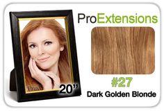 """Pro Lace 20"""", #27 Dark Golden Blonde"""