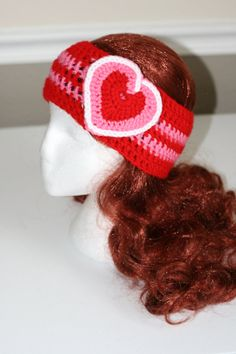 These adorable Head Warmers are perfect for all the upcoming holiday seasons. Not only will it spice up your outfit, it will also keep you warm!  The Valentine's Day head warmer is red and pink striped with multi color heart.
