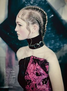 Jean Campbell by Paolo Roversi for Vogue UK
